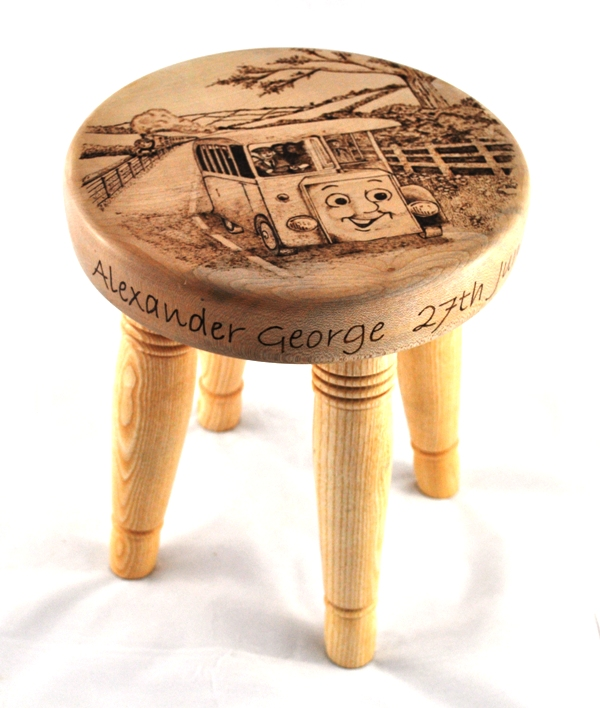 Childs Personalised Stool